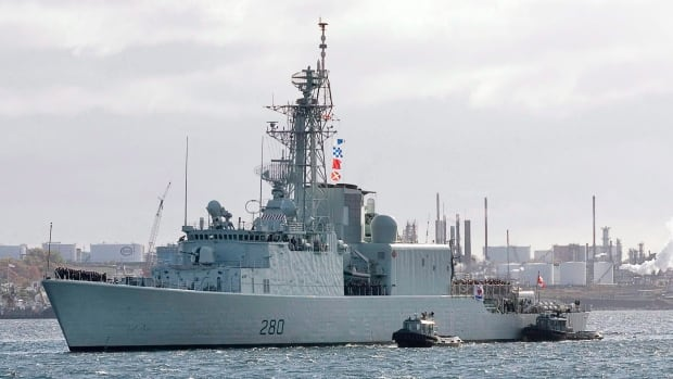 The Royal Canadian Navy has lost the use of HMCS Iroquois on the East Coast after rust was found in its hull.