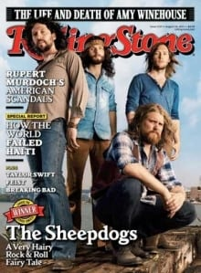 Sheepdogs Rollingstone