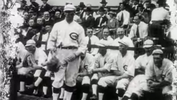 New York filmmaker Bill Morrison has discovered rare footage of the 1919 World Series that's become known as the Black Sox scandal, while working on a documentary about old films found in Dawson City permafrost.