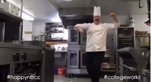 Happy NBCC chef