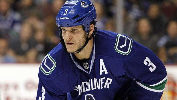 Canucks defenceman Kevin Bieksa has never played internationally for Canada.