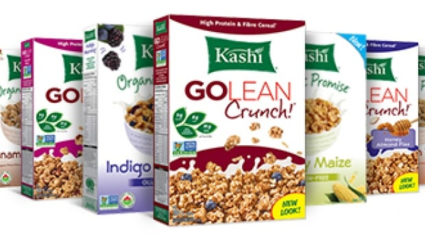 Kashi is a line of cereals, granola bars and other products from Kellogg. It will drop the 'all natural' and 'nothing artificial' from the label.