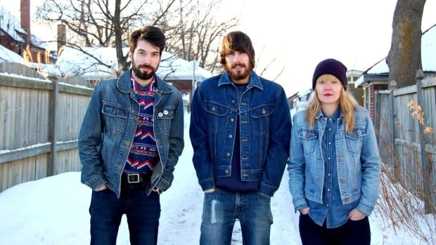 Run Coyote includes from left; Sam Allen, Jake Allen and Amanda Grant. The band is playing The Hive in Kitchener on Saturday night.