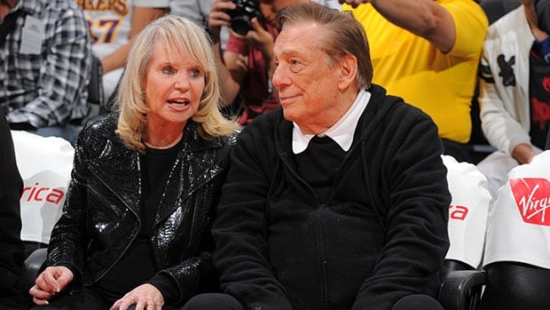 Shelly, left, and Donald Sterling have been separated for the last year.