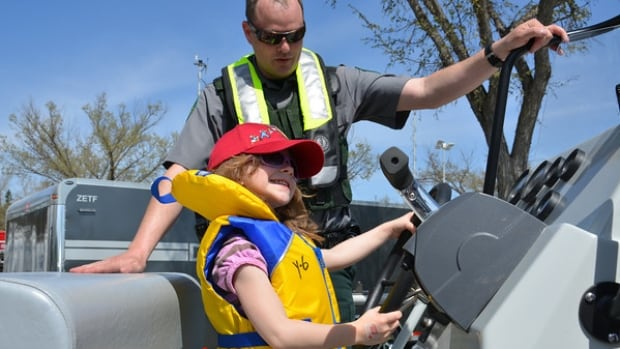 Take the family down to Hawrelak Park this weekend for a free celebration of all things safety - including watching a search and rescue dog display, sitting in a helicopter cockpit, and testing your family's speed in a safety drill.