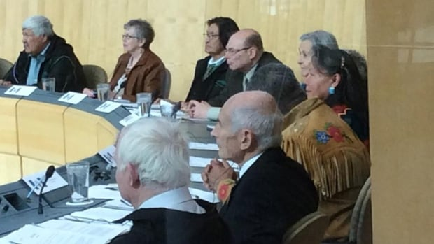 Elders from across the Northwest Territories got together for a model parliament in the legislative assembly in Yellowknife. The group voted unanimously in favour of a moratorium on fracking until 'impacts on the North are better understood, and the government can manage this technology in a way that ensures the integrity of our environment and communities.'
