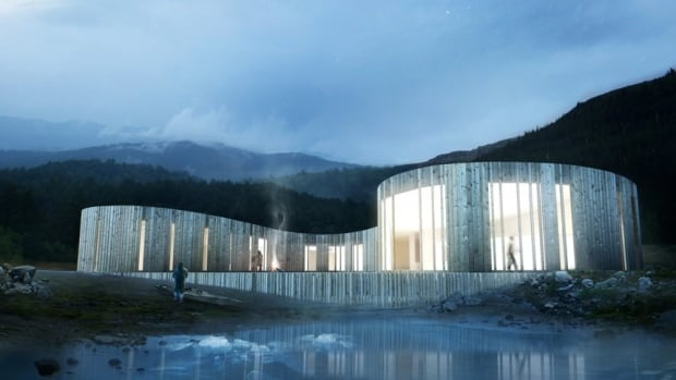 Todd Saunders was chosen to design the new Torngâsok Cultural Centre in Nain, which is set to open later this year.