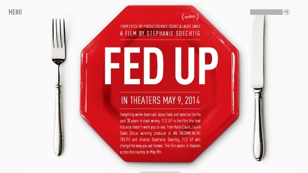 Fed Up documentary opening tonight in Vancouver, Toronto and Montreal documents how food manufacturers are responsible for fuelling an obesity epidemic in North America.