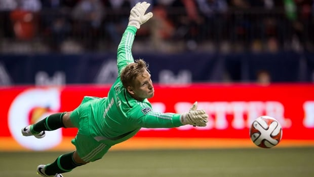 Whitecaps goalkeeper David Ousted made two saves and assisted on Erik Hurtado's goal in the team's 1-0 win over the Crew in Columbus on Saturday. It marked Vancouver's first road victory of the Major League Soccer season.
