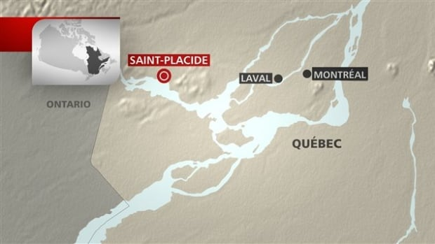 Two men from the West Island were found in Lake of Two Mountains, near Oka, on Saturday evening.