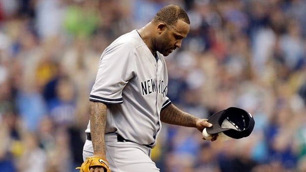 Yankees lefty CC Sabathia will take a trip to the disabled list, the team announced on Sunday.