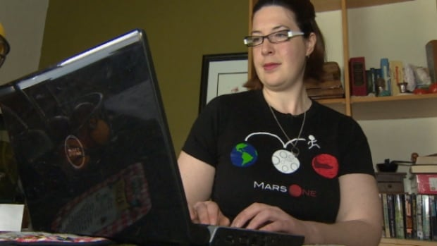 Christy Foley recently passed her medical exam and came one step closer to one day living on Mars.