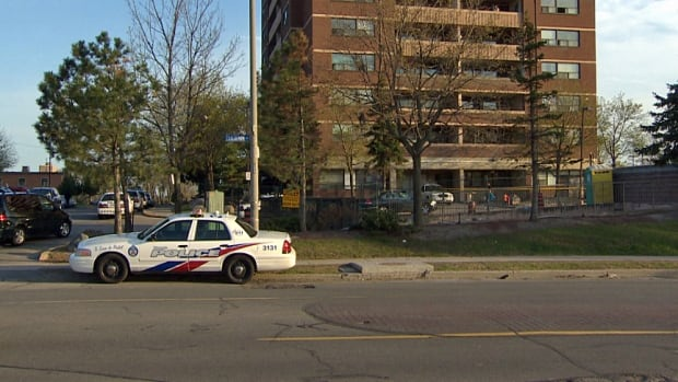 Toronto police were probing a stabbing near Jane Street and Wilson Avenue that left a man with severe injuries on Sunday.