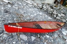 Slocan Lake canoe accident