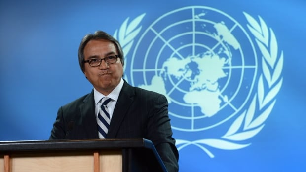 James Anaya, dean of law at the University of Colorado is urging member states of WIPO to make Indigenous cultural appropriation illegal under international law.