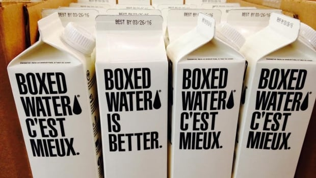 The U.S. makers of Boxed Water is Better tout the product as a more environmentally sensitive alternative to bottled water.
