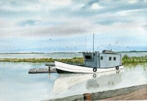 Millard Barteaux  Fishing Boat