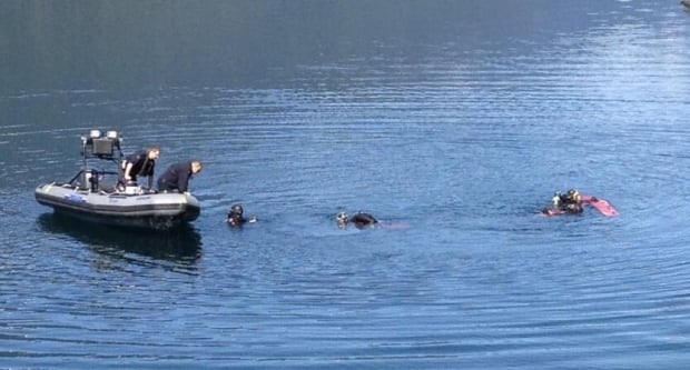Slocan Lake search