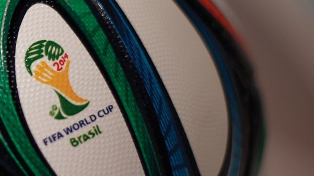 FIFA World Cup 2014 is on CBC TV and CBC.ca from June 12 to July 13.