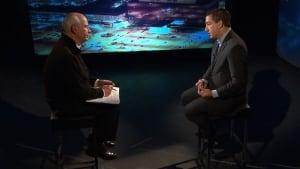 Glenn Greenwald and Peter Mansbridge