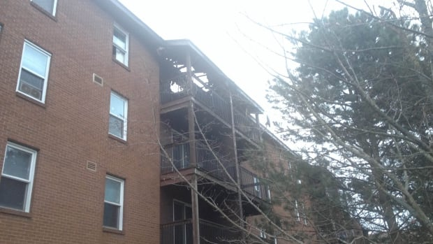 A fire that began on the sixth floor of a Windmill Road apartment building caused significant damage.