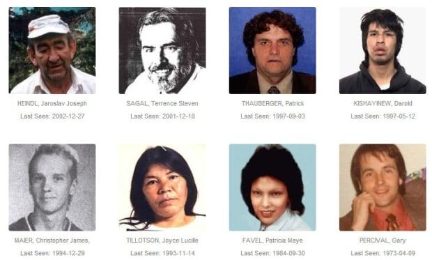 Missing persons cases in Regina