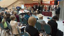 Health Minister Ted Flemming announced plans for 3T MRI for Saint John