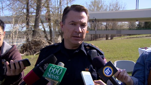 Insp. Cliff O'Brien says police will be out on Calgary rivers 40 hours per week.