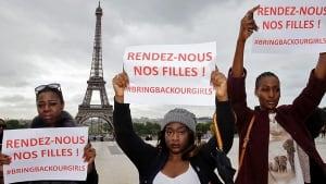 NIGERIA-GIRLS/FRANCE