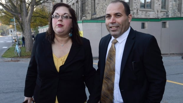 Mohamed Harkat and his wife, Sophie, will find out today at the Supreme Court of Canada if Harkat, a non-citizen, is in danger of being deported. Harkat is challenging the constitutionality of the government's security certificate issued to him because he is suspected of terrorist activities.