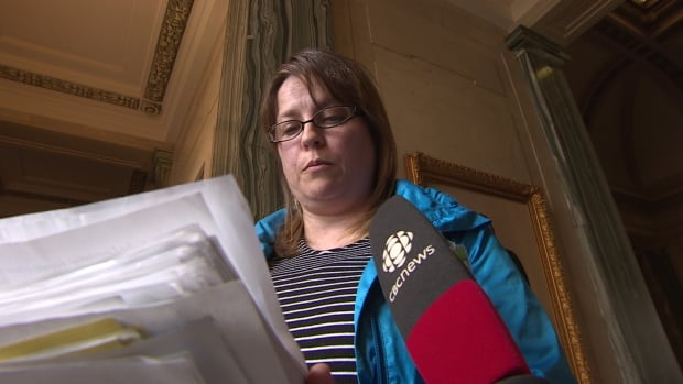 Carla Fenton-Katchmar has collected more than 2,000 signatures.
