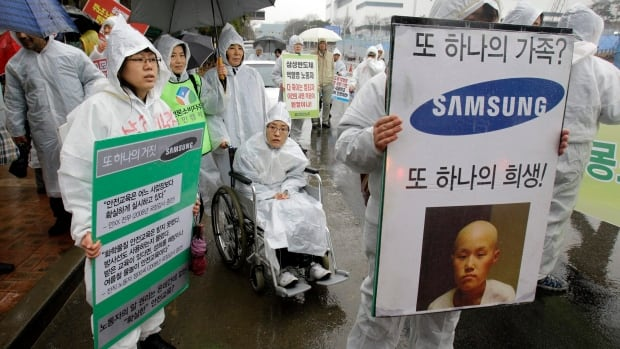 Samsung has given up its fight against hundreds of its factory workers who got sick while working in the company's facilities.
