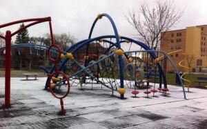 Playground snow