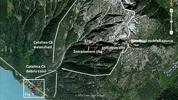 "A geological report issued last summer concluded, ""The landslide risk facing residences at Lillooet Lake Estates would likely be judged to be unacceptable."""