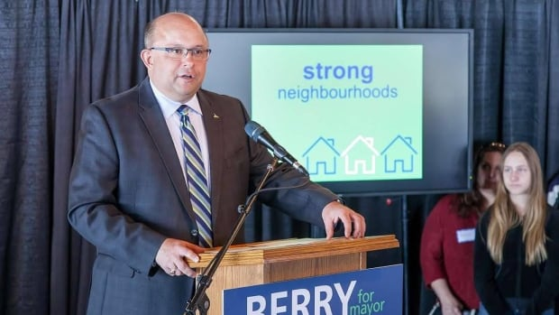 Berry Vrbanovic is running for mayor of Kitchener.