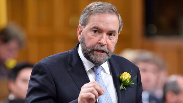 NDP Leader Thomas Muclair tells the prime minister, 'It would be imprudent to place a former civil servant in charge of warning the public about policies he helped design and implement.'