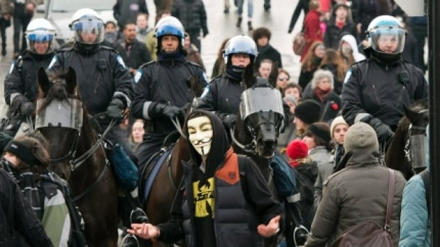 In May 2013, the Parti Québécois government's public security minister, Stéphane Bergeron, set up a special committee to determine how demonstrations against tuition fee hikes escalated to such an extreme.