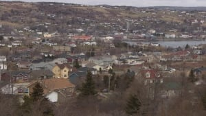 Wide shot of Carbonear