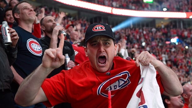 Fans packed into the Bell Centre in Montreal to watch Game 7, but there were plenty watching the 3-1 Canadiens win across the country.