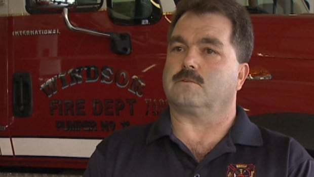 Windsor Fire Chief Scott Burgess said there is no justification for the withdrawal.