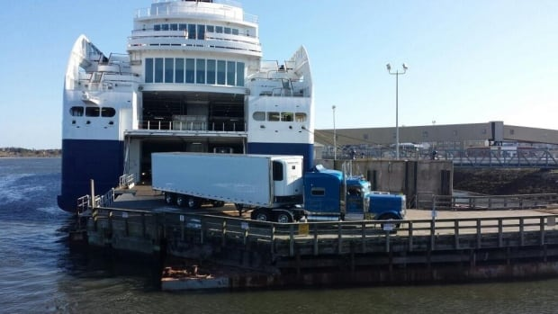 The ferry can handle 1,200 passengers and 300 cars. The company that operates the vessel says it hopes it will transport 100,000 passengers this season.