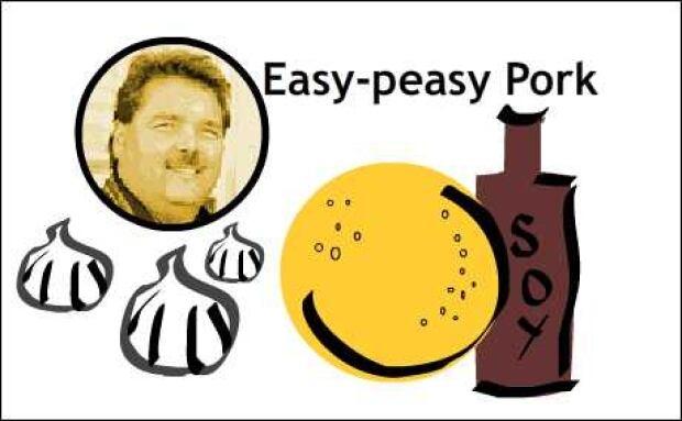 Cec's easy-peasy pork