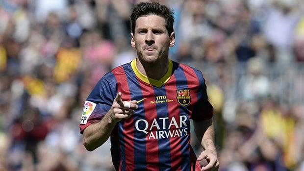 Lionel Messi has scored 354 goals at Barcelona, including five straight seasons of at least 40.
