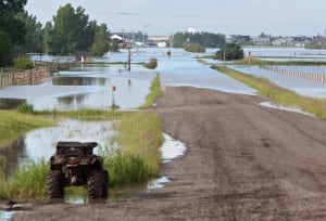 High River flood