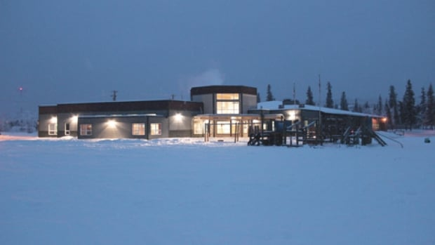 Eliza Van Bibber School in Pelly Crossing, Yukon. Election officials say a May 5 school council election was 'a highly charged atmosphere' with yelling and shouting directed at certain candidates. Now election officials are going to the courts for help to sort out irregularities.