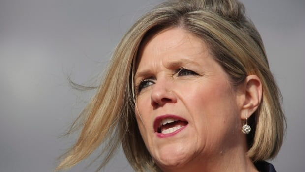 Ontario NDP Leader Andrea Horwath unveiled her party's platform on Thursday, vowing to increase corporate taxes by one per cent and a restoration of passenger rail service.