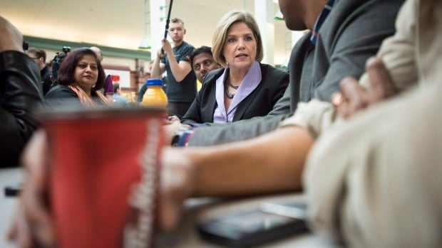 Ontario NDP Leader Andrea Horwath has been claiming items from Tim Horton's say the Liberals while also criticizing government CEOs for expensing things such as coffee and muffins.