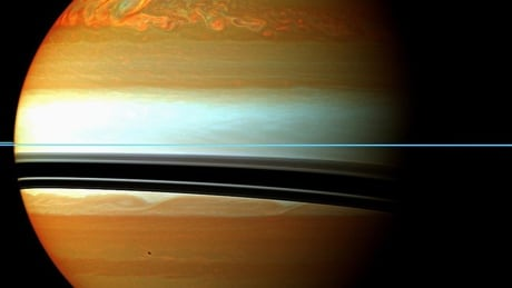 NASA successfully pilots spacecraft between Saturn and its rings