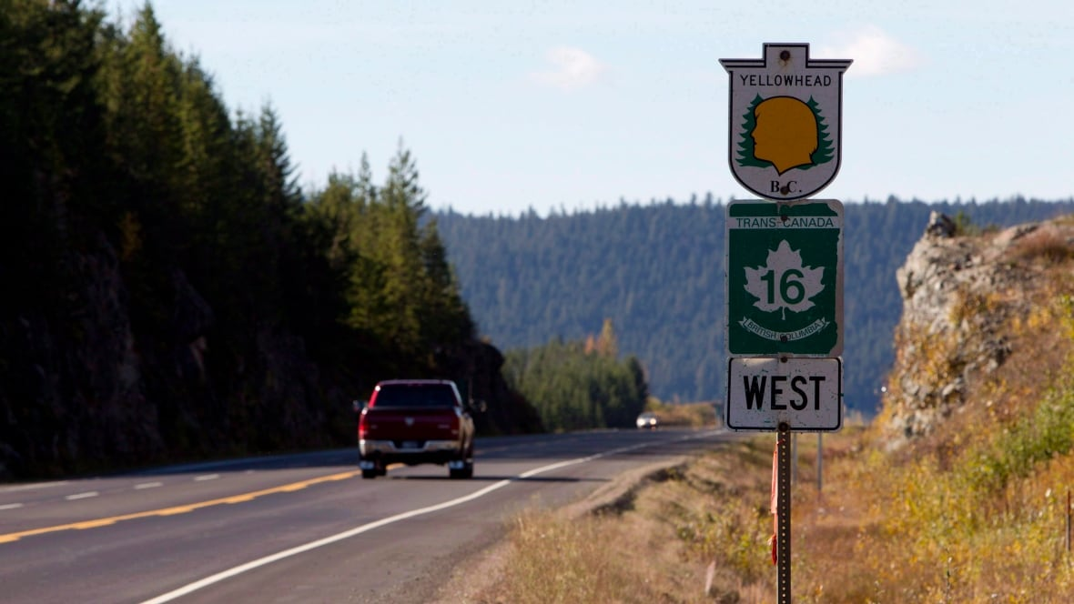 Its Highway Of Tears Man Northern BC Faces Life Without - Highway of tears canada map