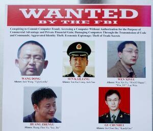 China Cyberspying